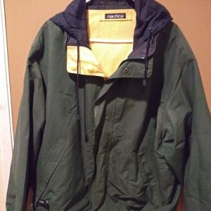 Nautica Reversible Jacket Size XL